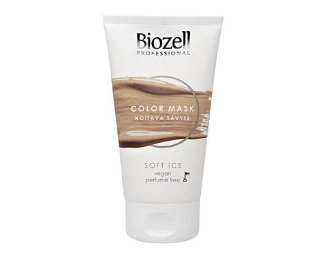 Biozell Professional Color Mask Hoitava sävyte, sävy Soft Ice, 8,90 € / 150 ml.