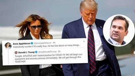 Trumpin tartunta herätti myös erinäisiä salaliittoteorioita väitteen paikkansapitävyydestä. Ulkopoliittisen instituutin johtajan Mika Aaltolan mukaan epäilyt ja salaliittoteoriat kuvastavat aikaa, jossa elämme.