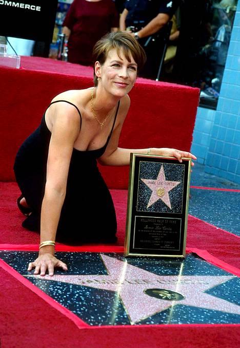 Curtis sai oman tähtensä Hollywoodin Walk of Famelle vuonna 1988.