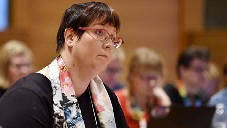 Kyllönen valittiin lauantaina pidetyssä puoluevaltuuston kokouksessa yksimielisesti vasemmistoliiton ehdokkaaksi.