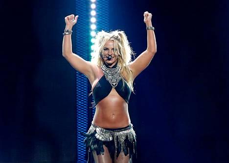 Britneyn live-show Vegasissa syyskuussa. 35 vuotta täyttävä tähti on edelleen huimassa kunnossa.