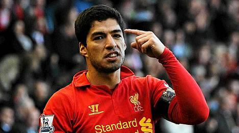 Luis Suarez on jälleen kohun keskellä.