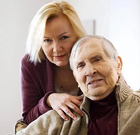Sini ja Einojuhani Rautavaara menivät naimisiin vuonna 1984. Kuva vuodelta 2009.