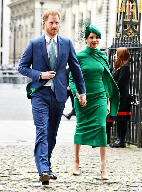 Sussexin herttua Harry ja herttuatar Meghan aikovat puhua esiintymisissään heille tärkeistä yhteiskunnallisista aiheista.