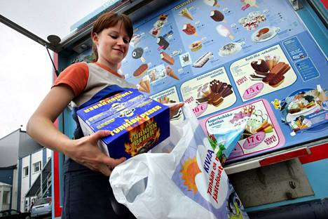 Milloin viimeksi piipahdit jäätelöautolla?