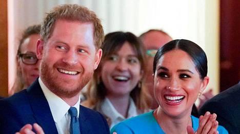 Prinssi Harry ja Meghan osallistuivat Endeavour Fund Awards -tapahtumaan Lontoossa 13.5.
