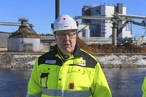 Metsä Groupin projektijohtajalle Timo Merikalliolle Äänekosken-projekti on pitkän työuran huipennus.