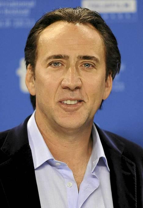 Tässä valokuvassa on Nicolas Cage.