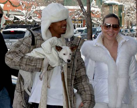 Mariah Carey vietti laatuaikaa Aspenissa miehensä Nick Cannonin kanssa.