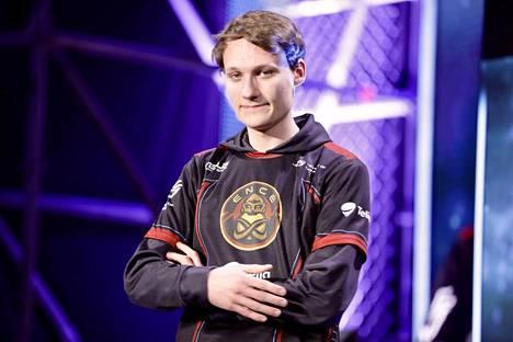 """Joona """"Serral"""" Sotala on StarCraft-turnauksen voittajasuosikki."""