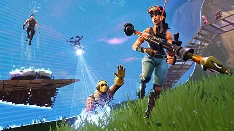 Fortnite on suosittu selviytymispeli. Pelin kilpaturnauksissa on jaettu rahaa yli 100 miljoonaa dollaria.