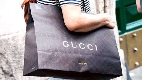 Gucci ilmoitti, että se on kompensoinut kaikki päästönsä. Kuvituskuva.