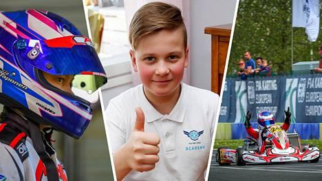 Tuukka Taponen on yksi lahjakkaimmista suomalaisista autourheilijanaluista.