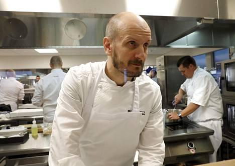 Hans Välimäki on Suomen tunnetuimpia kokkeja.