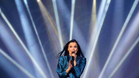 Tarja Turunen Made in Finland festivaaleilla Moskovassa kesäkuussa.