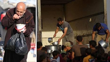 Ruoka voi loppua Aleppon saarretuilta alueilta.