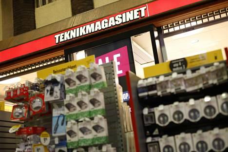 Teknikmagasinet Helsingin rautatieasemalla tämän vuoden tammikuussa.