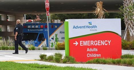 Orlandon kaupungissa sijaitseva Advent Health -sairaala kertoi heinäkuun lopussa, että sairaalan tehohoitopaikat ovat täynnä ja koronapotilaita on hoidossa yli 900.