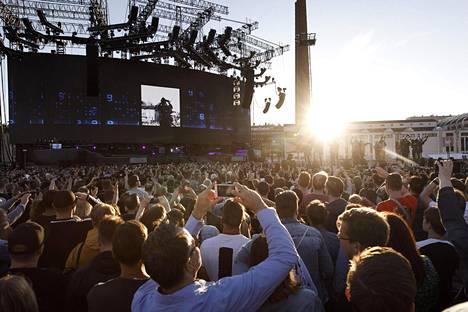Muse on konsertoinut Suomessa peräti 14 kertaa.