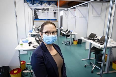 Tampereen kaupungin hoitotyön päällikkö Birgit Aikio.