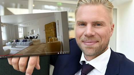 Sean Bergenheimin asunto Helsingissä on myynnissä.