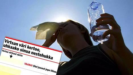 4 merkkiä siitä, että pitää juoda ja äkkiä – nestehukan uhasta voi päätellä paljon jo yhdestä kuvasta