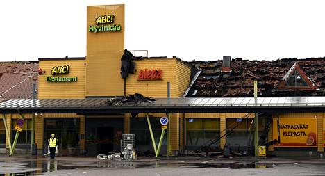 Tulipalon aihauttmat tuhot olivat erittäin mittavat.