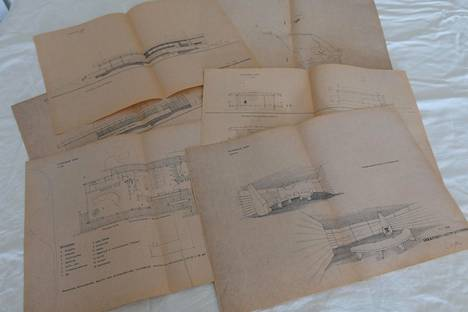 Keskon arkkitehti Seppo Hytönen piirsi uuden saunan varsin nopeaan tahtiin tammikuussa 1964.