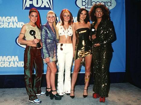 Spice Girls oli 90-luvun suosituimpia yhtyeitä.