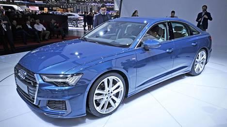 Uusi A6 oli Audin kirkkaimpia tähtiä Geneven näyttelyssä maaliskuussa. Detroitissa Audia ei nähdä ensi talvena ollenkaan.