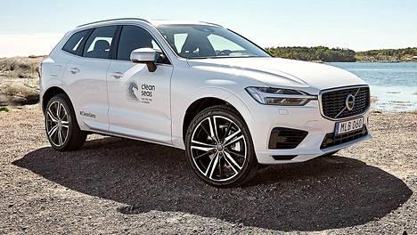 Volvo on testannut kierrätetyn muovin lisäkäyttöä XC60-mallin erikoisversiossa.