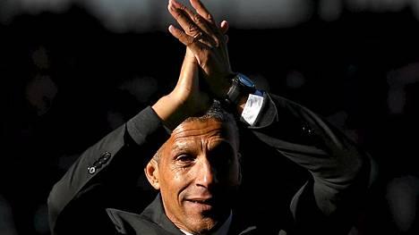 Norwichin manageri Chris Hughton on joutunut rasististen herjauksien kohteeksi.
