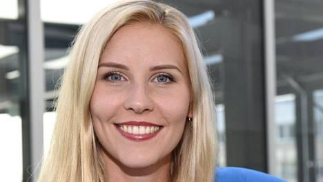 Kolmiloikkaaja Kristiina Mäkelä on äitynyt kuluvalla kaudella ennätysvireeseen.