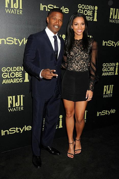 Isä ja tytär kuvattiin Hollywoodissa Golden Globe -gaalan ennakkotilaisuudessa 18. marraskuuta.