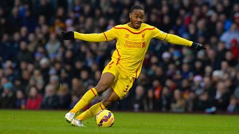 Raheem Sterling ei ole hyväksynyt Liverpoolin tarjoamaa jatkosopimusta.