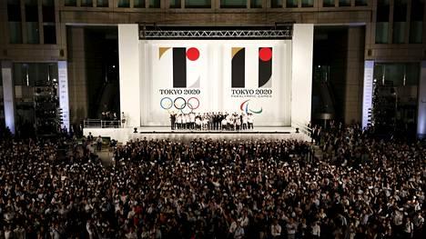 Olympialaisten logo julkistettiin tänään.