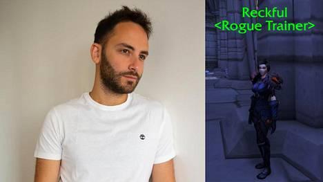 """Byron """"Reckful"""" Bernsteinin, 31, kuolema järkytti pelialaa heinäkuun alussa. Reckful-nimi on nyt ikuistettu World of Warcraftiin."""