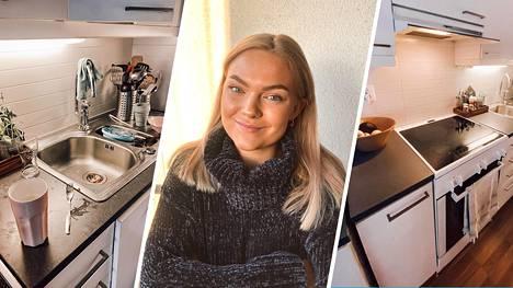 Ida, 22, rakastaa siivoamista. Hän jakaa Ilta-Sanomien lukijoille parhaat siivousvinkkinsä.