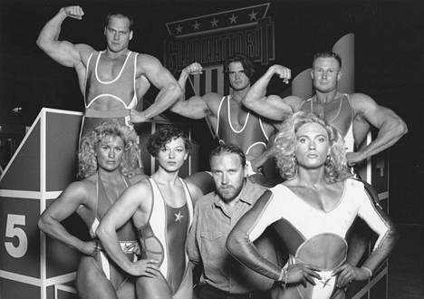 Gladiaattorit oli aikansa suosituimpia tv-sarjoja.