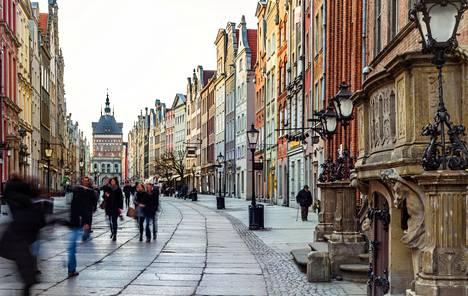 Gdansk on kaunis kaupunki täynnä kulttuuria.