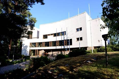Valtion vierastalo sijaitsee Helsingin Munkkiniemessä.