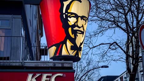 KFC-ketjun ravintola Hampurissa.