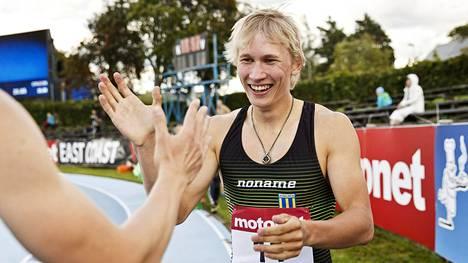 Samuli Samuelsson sai aihetta iloon lauantaina Lappeenrannassa.