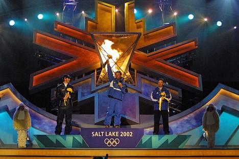 Kultamitali Salt Lake Cityn olympiakisoissa 2002 oli Lahtelan uran huippuhetki.