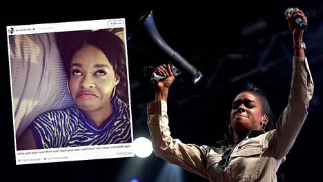 Rapartisti Azaelia Banksin komeron siivousoperaatio aiheutti raivon tähteä kohtaan.