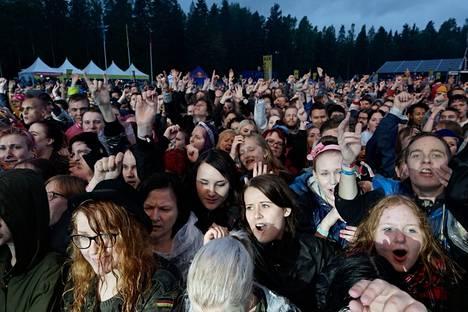 Yleisö haltioitui brittiyhtye Musen esiintymisestä keskiviikkoiltana.