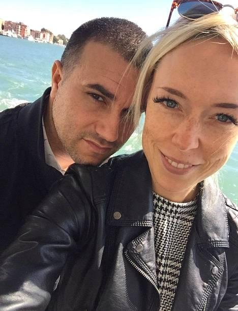 Emma Lampela on menossa ensi kesänä Venetsiassa Fabionsa kanssa naimisiin.