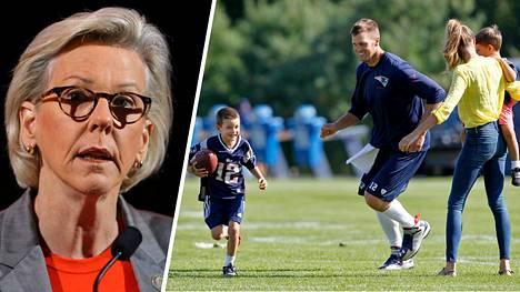Pormestari Jane Castor (vas.) muistutti Tom Bradylle, että Tampa Bay ei vielä ole Tampa Brady.