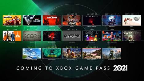 Microsoft kertoi tuovansa Xbox Game Pass -tilauspalveluun yhden ison pelin joka kuukausi.