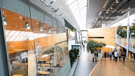 Valmetin toimisto Tampereella.